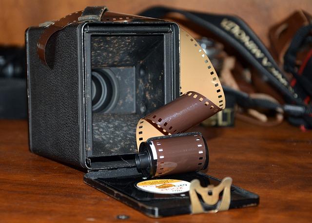 Aparat, film i zdjęcia