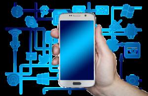 smartfon social media